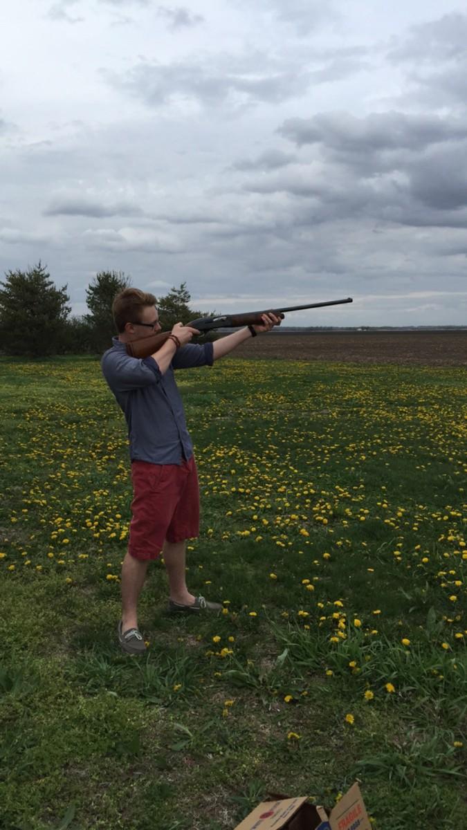 First Time Shooting A Gun