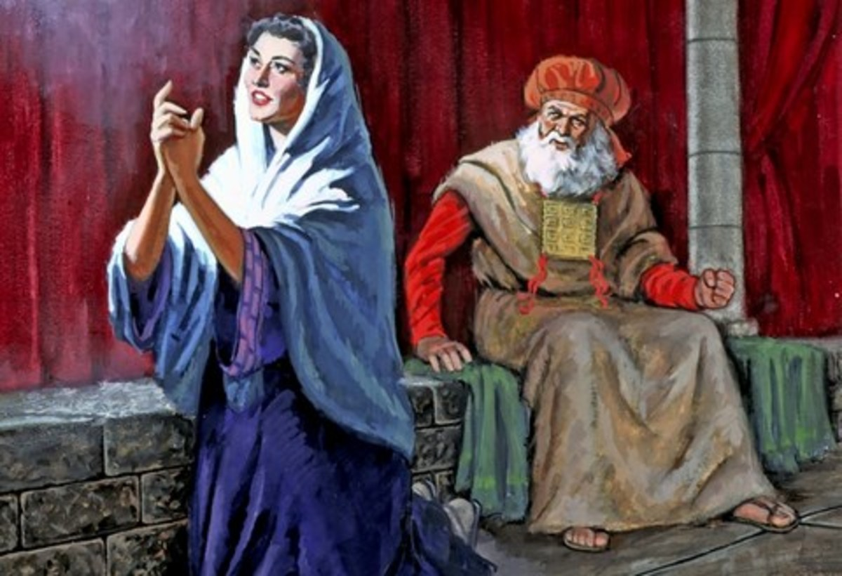 Hannah's story is found in 1 Samuel 1:1-2:21.