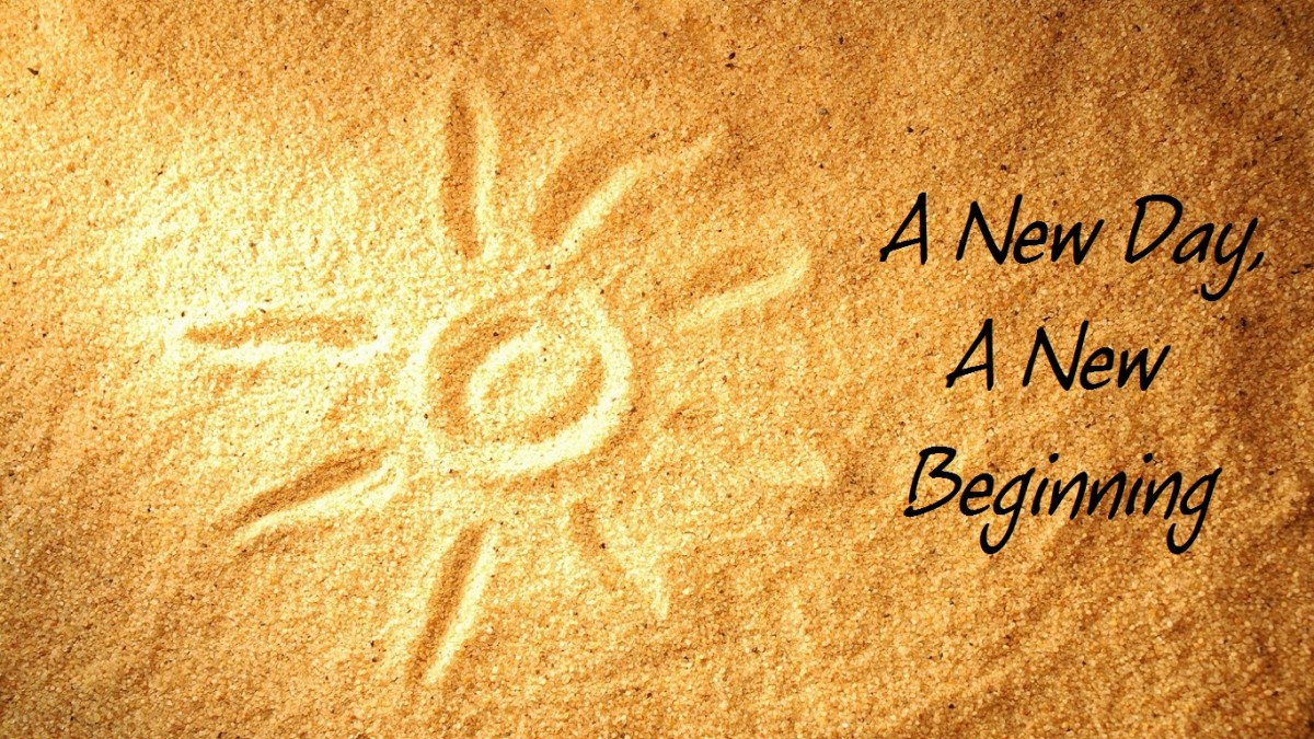 A new day is a new beginning!