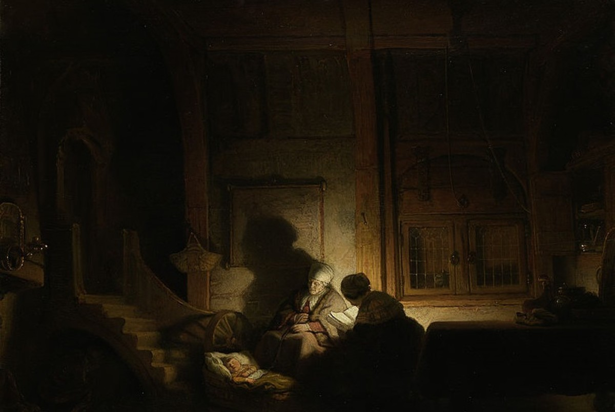 Rembrandt, the Master of Light and Shadow III.