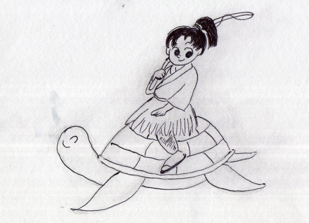 "Japanese folktales are known as ""Mukashibanashi"" (tales of long ago)."