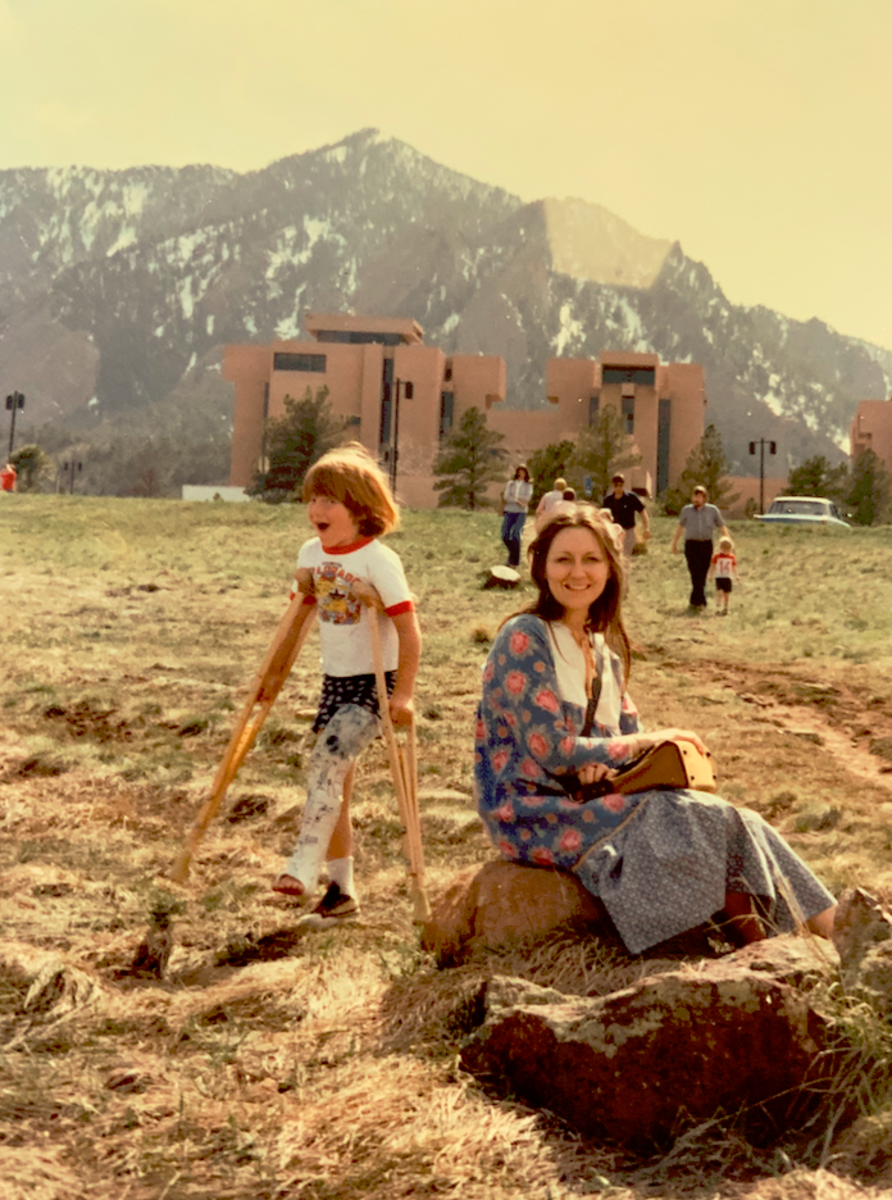 Linda and Rodney in Boulder, Colorado