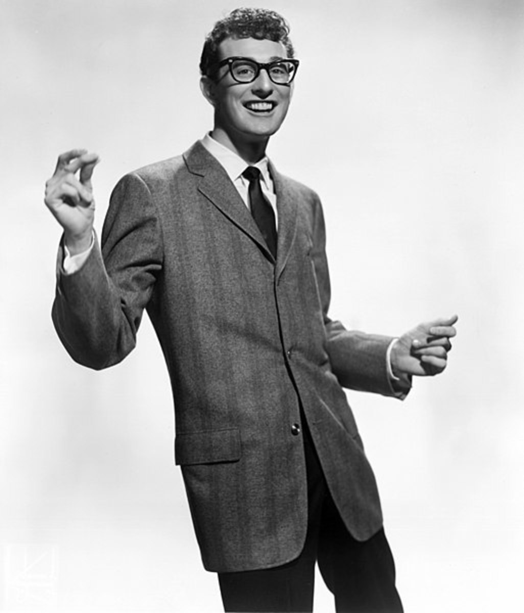 Buddy Holly, publicity shot for Brunswick Records.