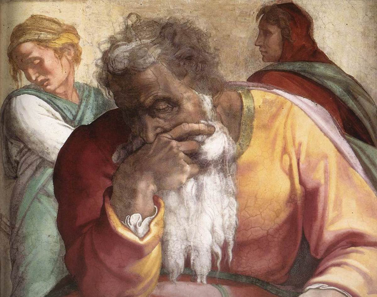 Jeremiah, one of the four major prophets