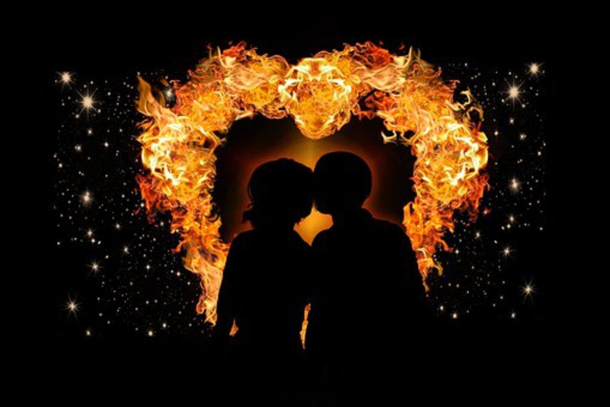 Flaming Kisses