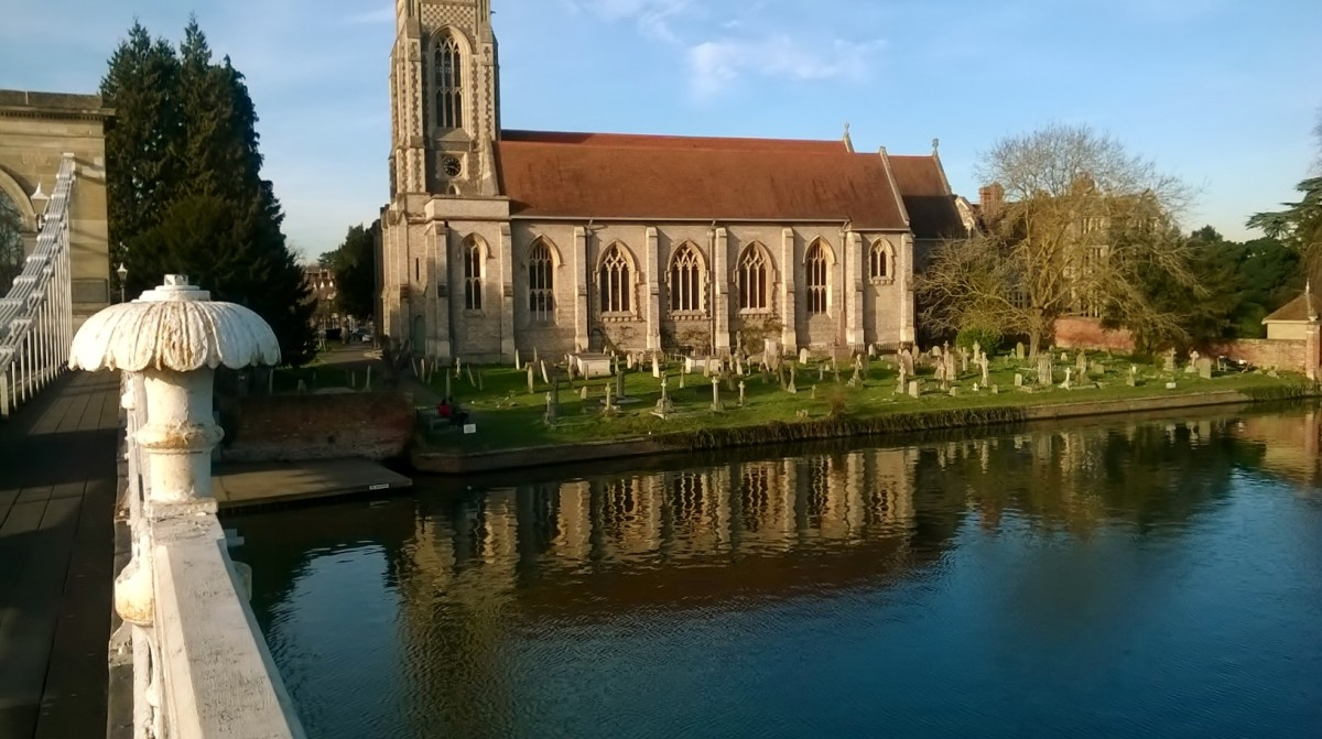 Church by River ThamesNell