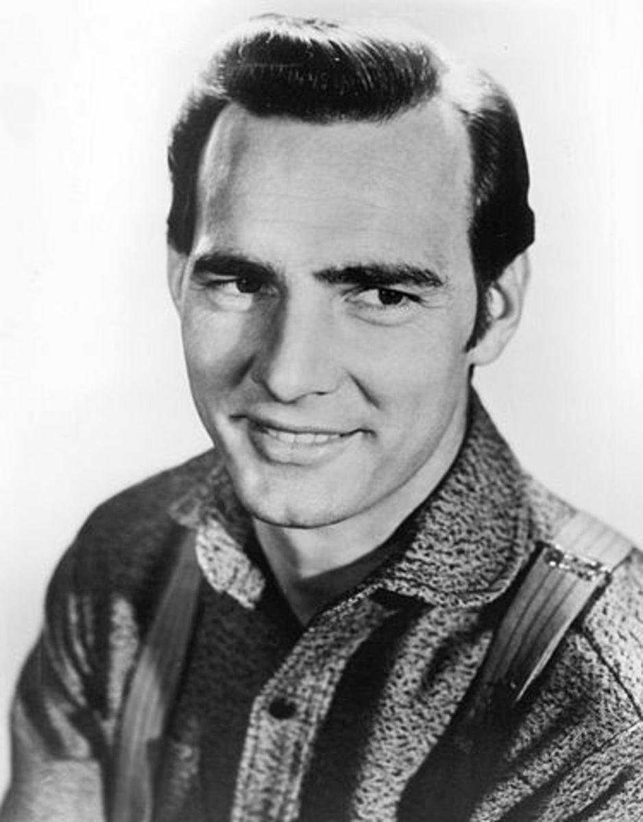 """Dennis Weaver as  """"Chester Goode""""  in Gunsmoke."""
