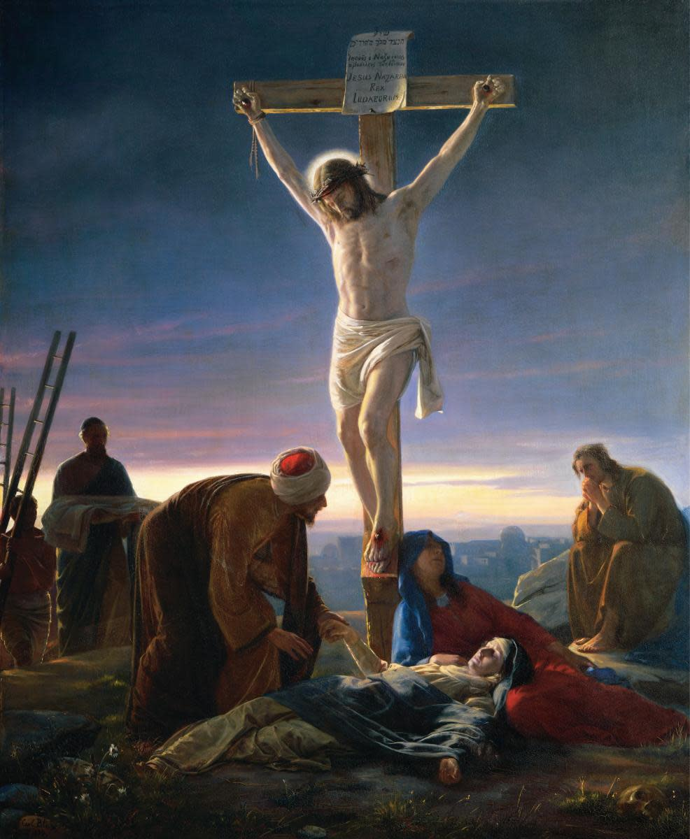 Christ on the Cross, by Carl Heinrich Bloch (1870)
