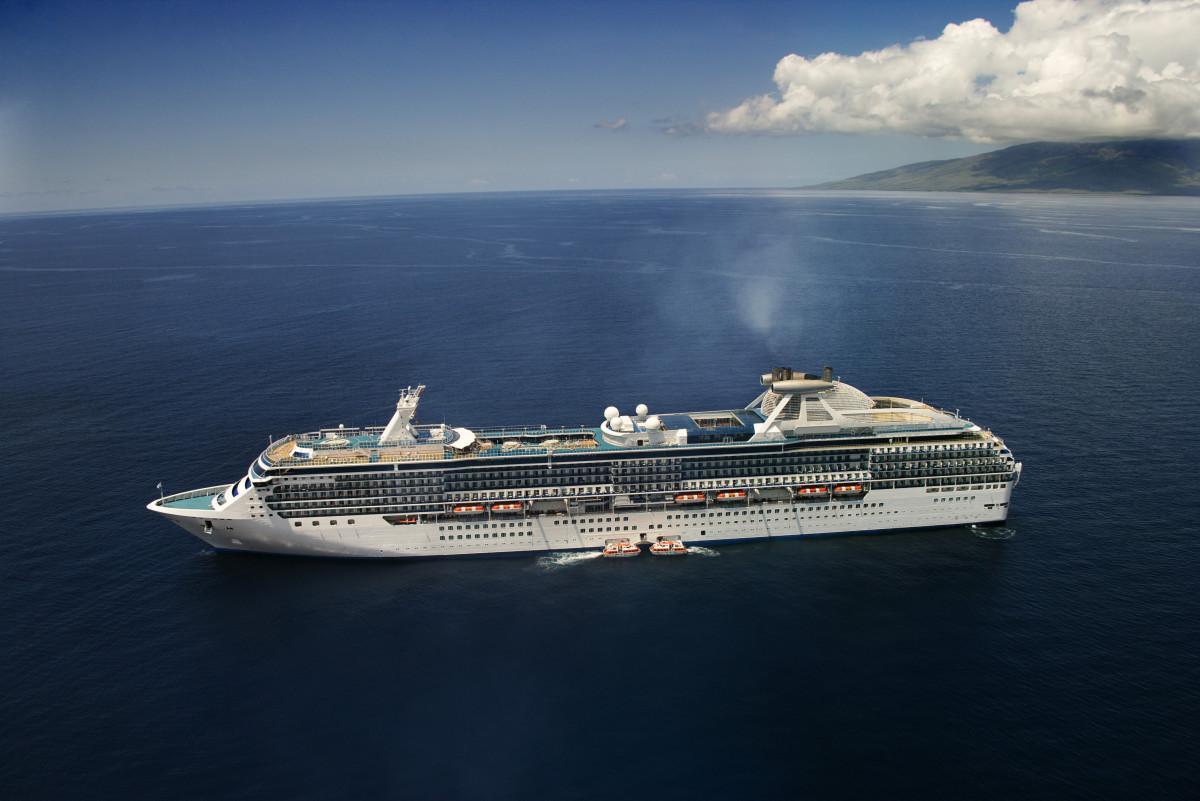 A beautiful honeymoon cruise cut short!