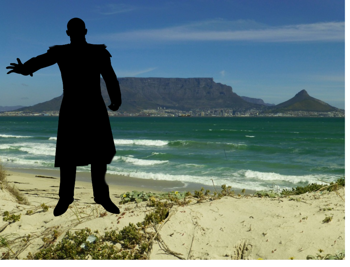 A wizard in Cape Town - ready to fall in love...