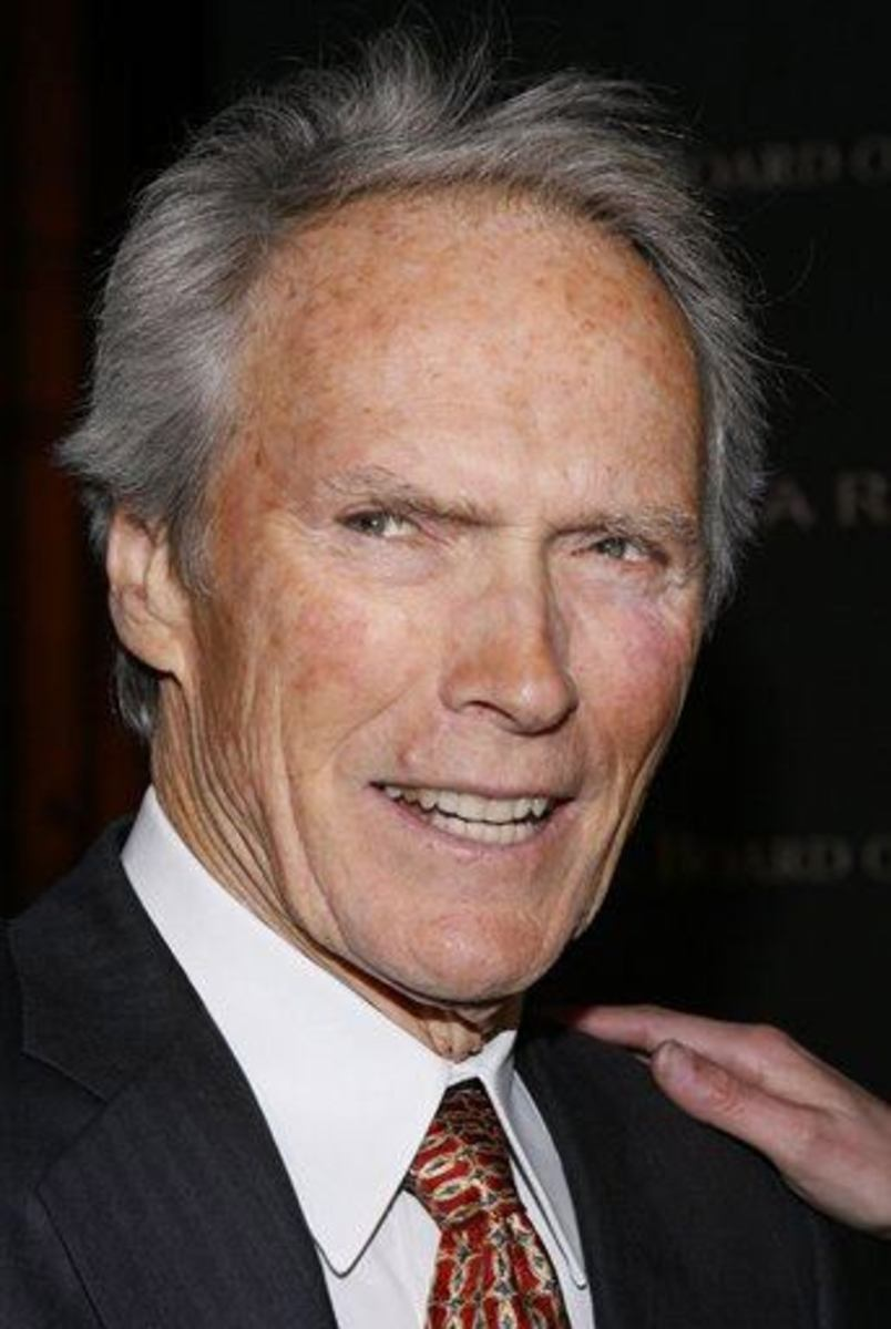 Clint Eastwood: Great bone structure and lots of good lovin' keeps him youthful