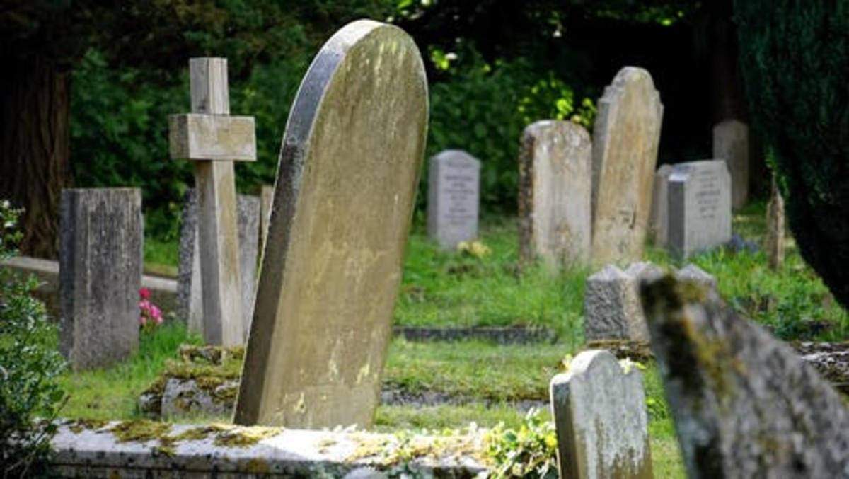 These old-fashioned tombstones tell a story all their own.