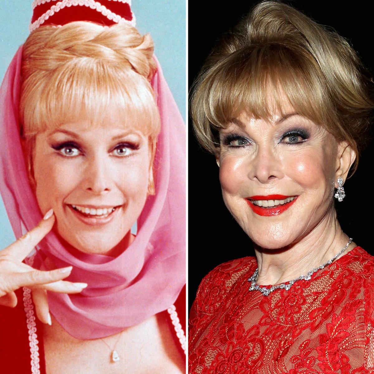 """Barbara Eden of """"I Dream of Jeannie."""" She looks a lot like Yvonne """"Bat-Girl"""" Craig."""