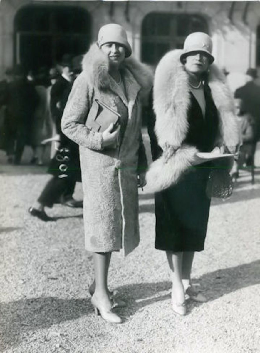 Daphne Worthington (right) and her best friend Marvis were always considered trend setters. That's why Daphne coveted the Emerald so much.