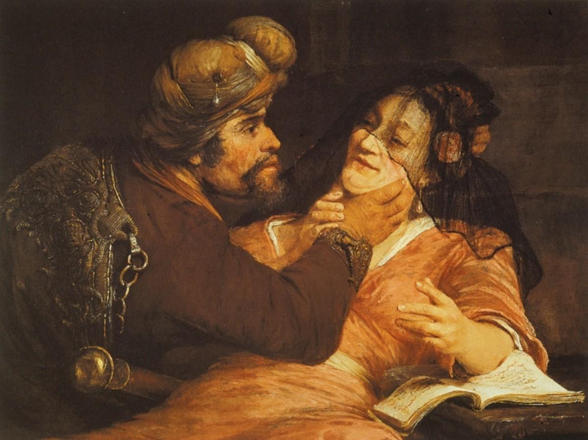 Judah and Tamar.