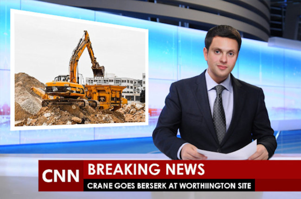 The word is out regarding the construction fiasco!