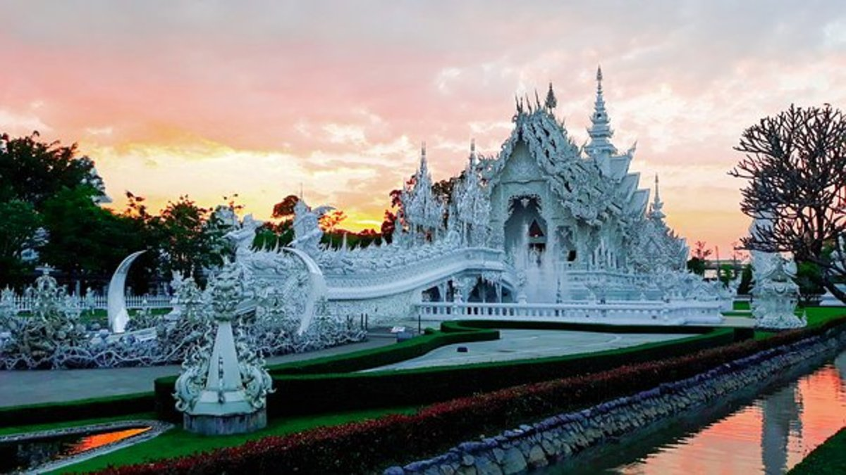 The White Temple in Northern Thailand