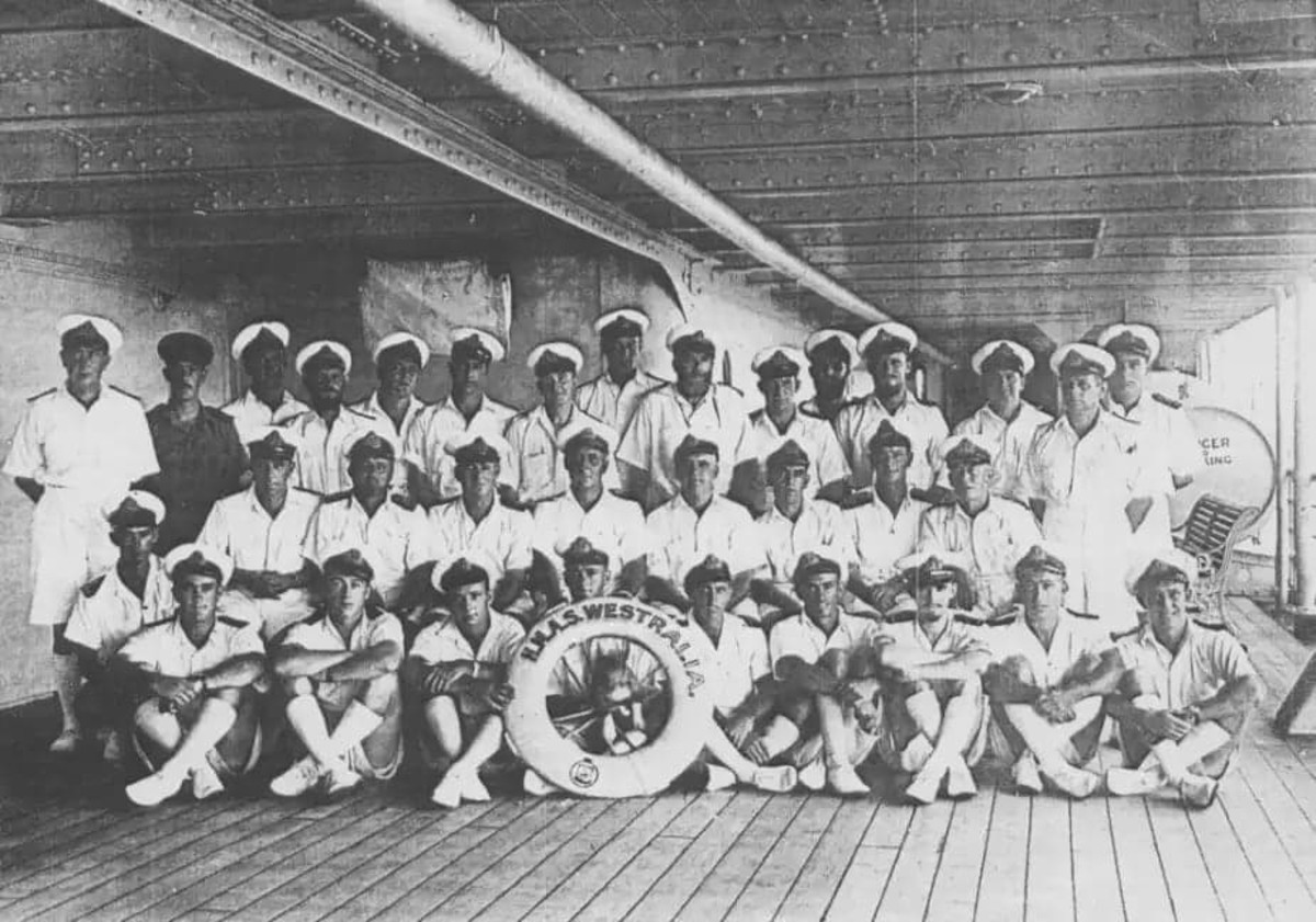 Australian Saliors, Crew of  HMAS Westralia