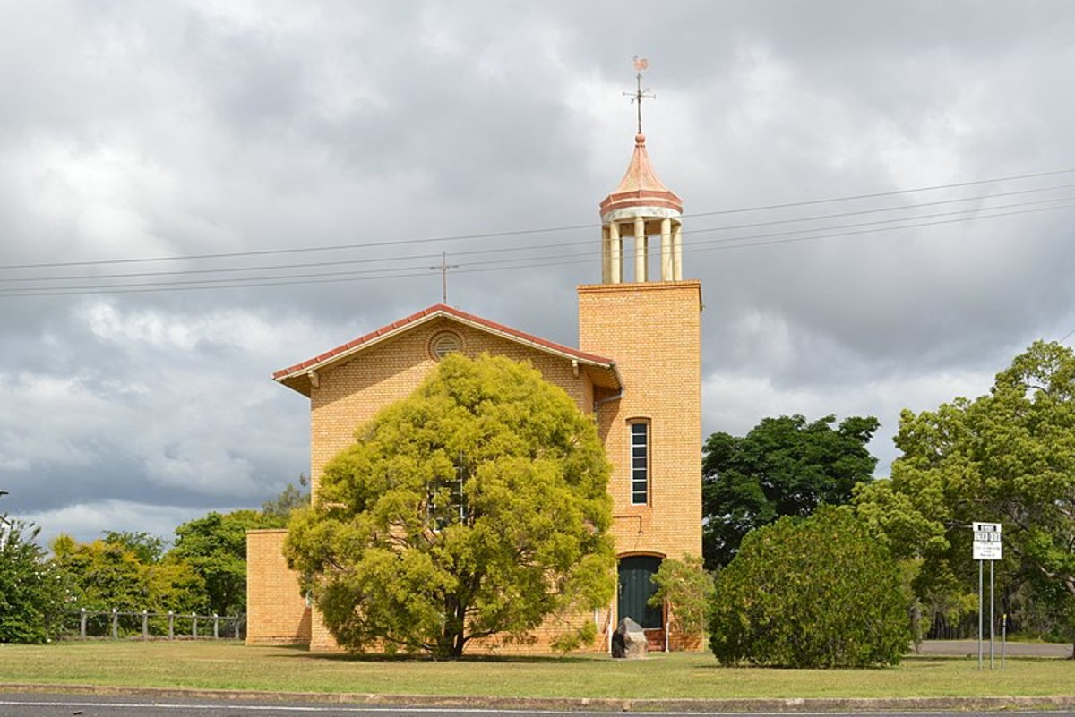 Shepherd Memorial (Anglican) Church of St Peter at Proston, Queensland