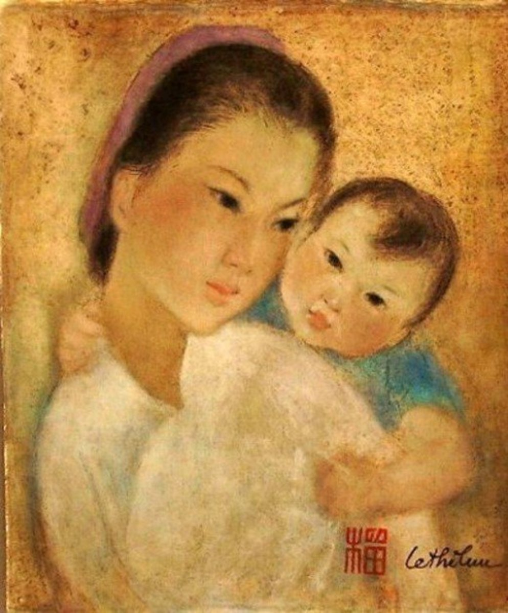 Mother and Child by Le Thi Luu