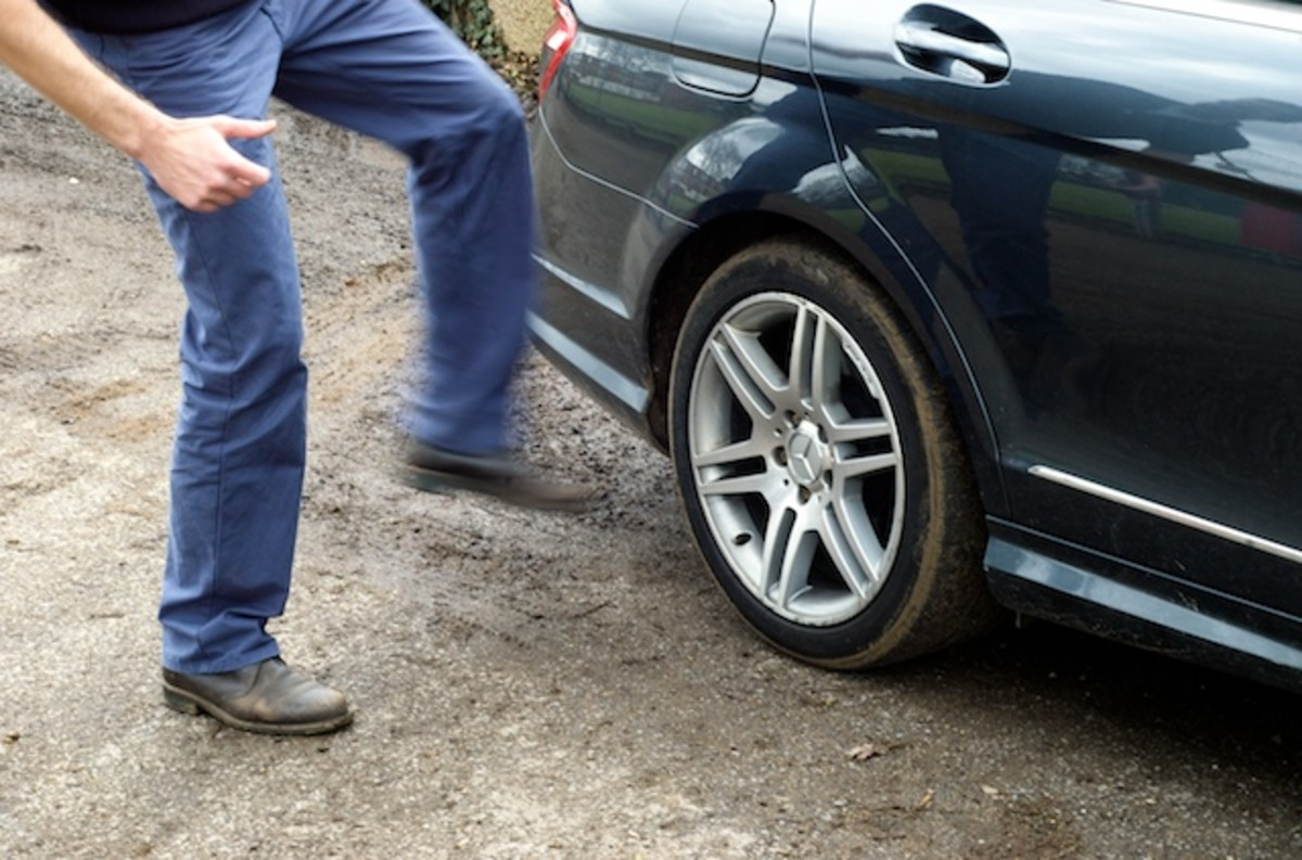 Kicking the tires is seen by those of almost every walk of life.