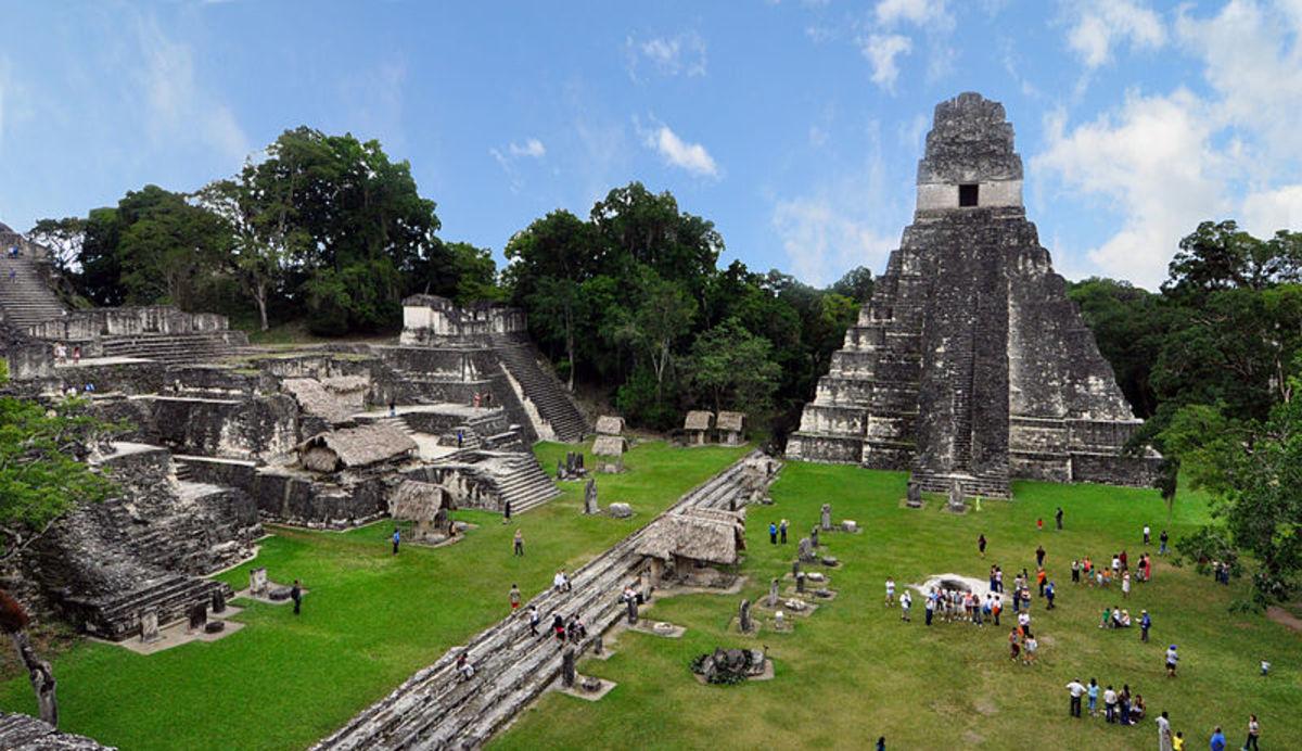 Tikal Mayan ruins Guatemala 2009