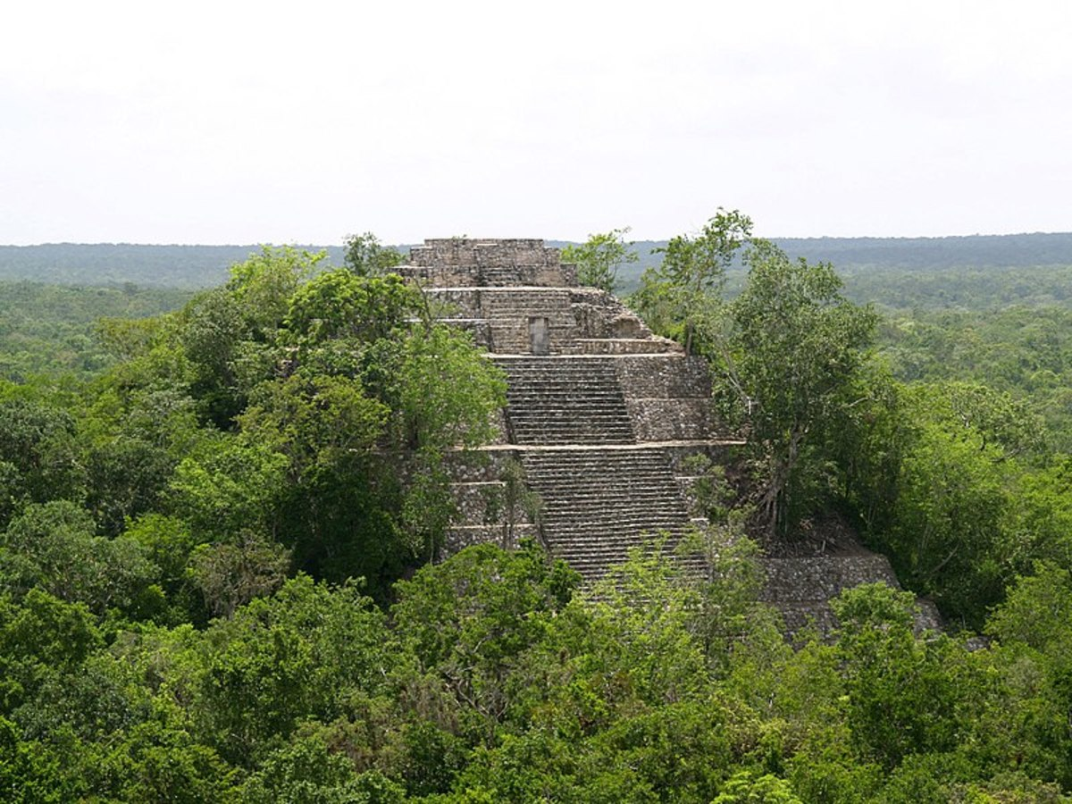 Ancient Ruins of Calakmul, Mexico