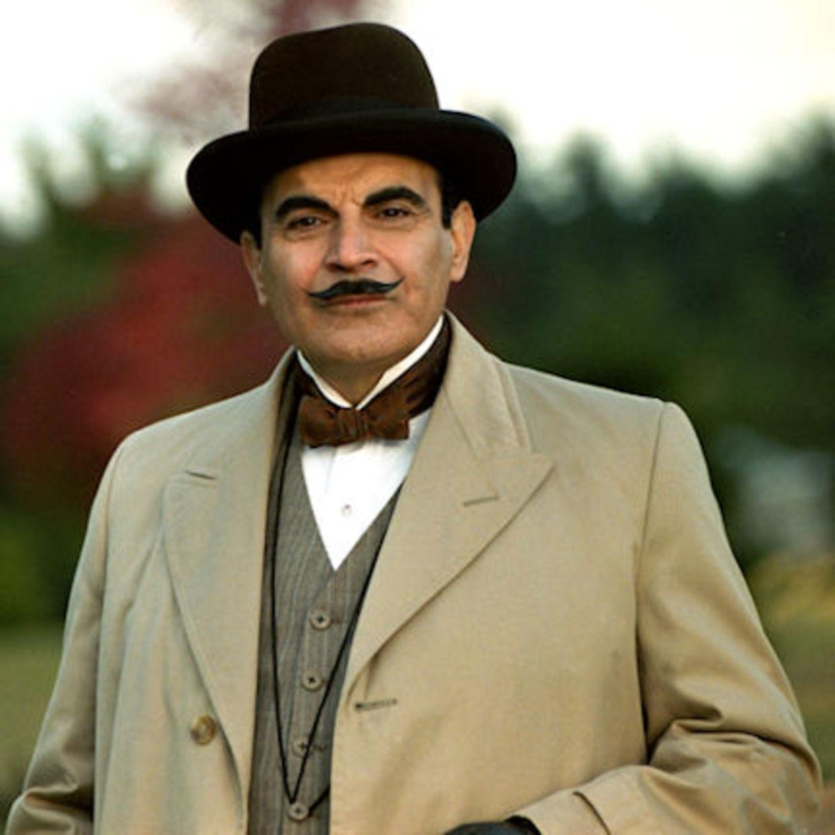 "Time to stir those ""little gray cells""—David Suchet as Hercule Poirot"