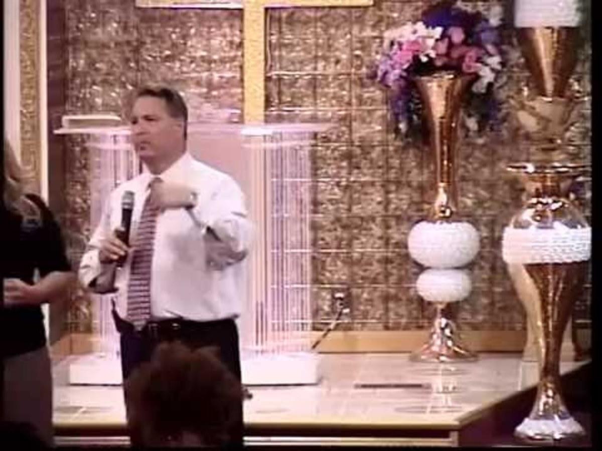 David Turner preaching.