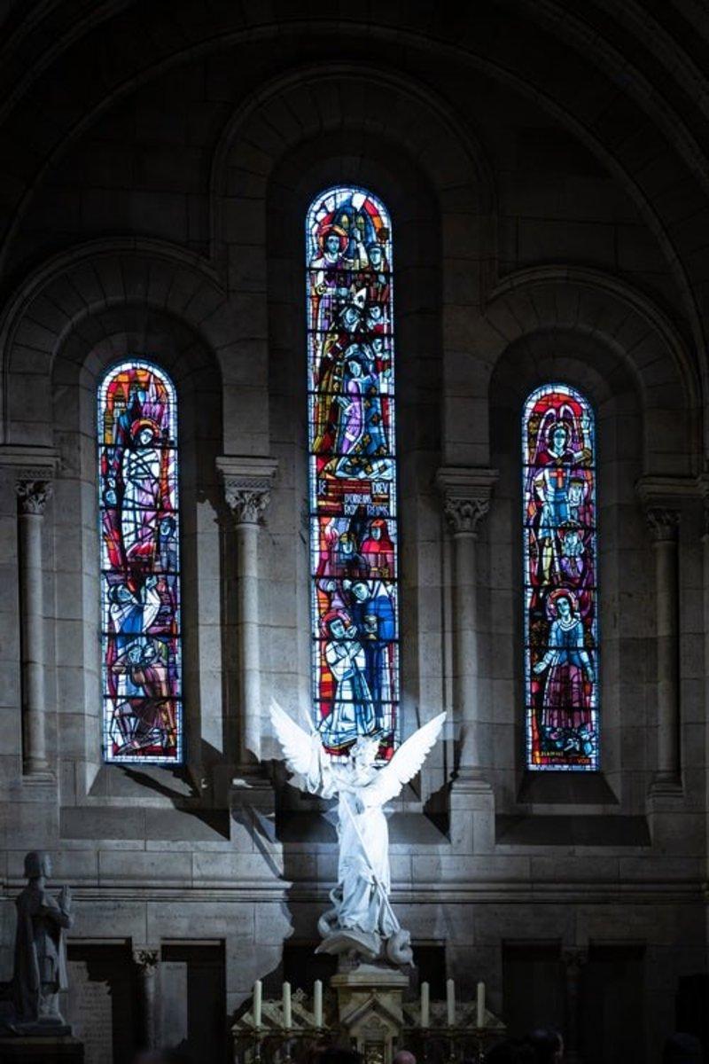 No churches in heaven