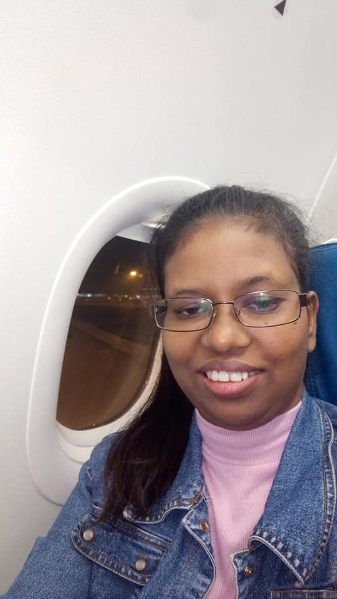 Selfie in the airplane :)