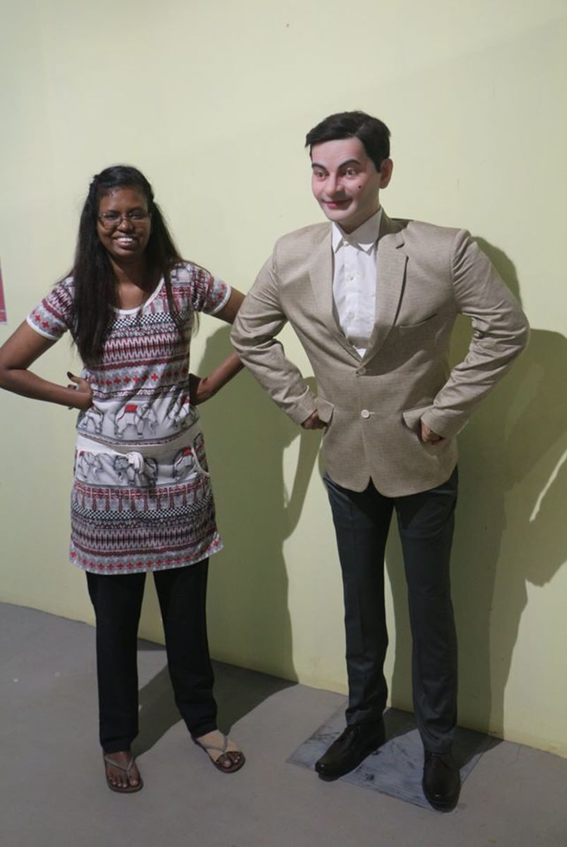 Me and Mr. Bean :)