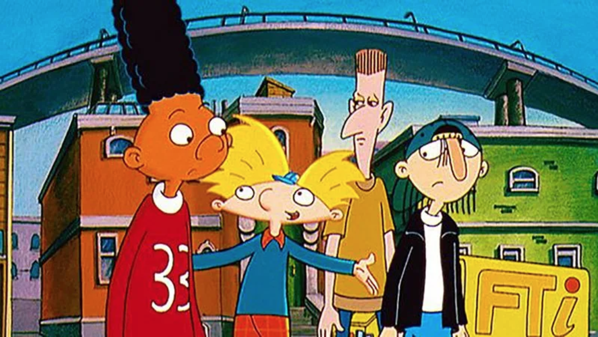 Even when his school mates tried to persuade him otherwise, Arnold (center, blonde hair) wanted to do the right thing.