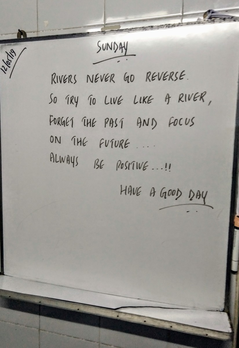 Reversing rivers just don't happen