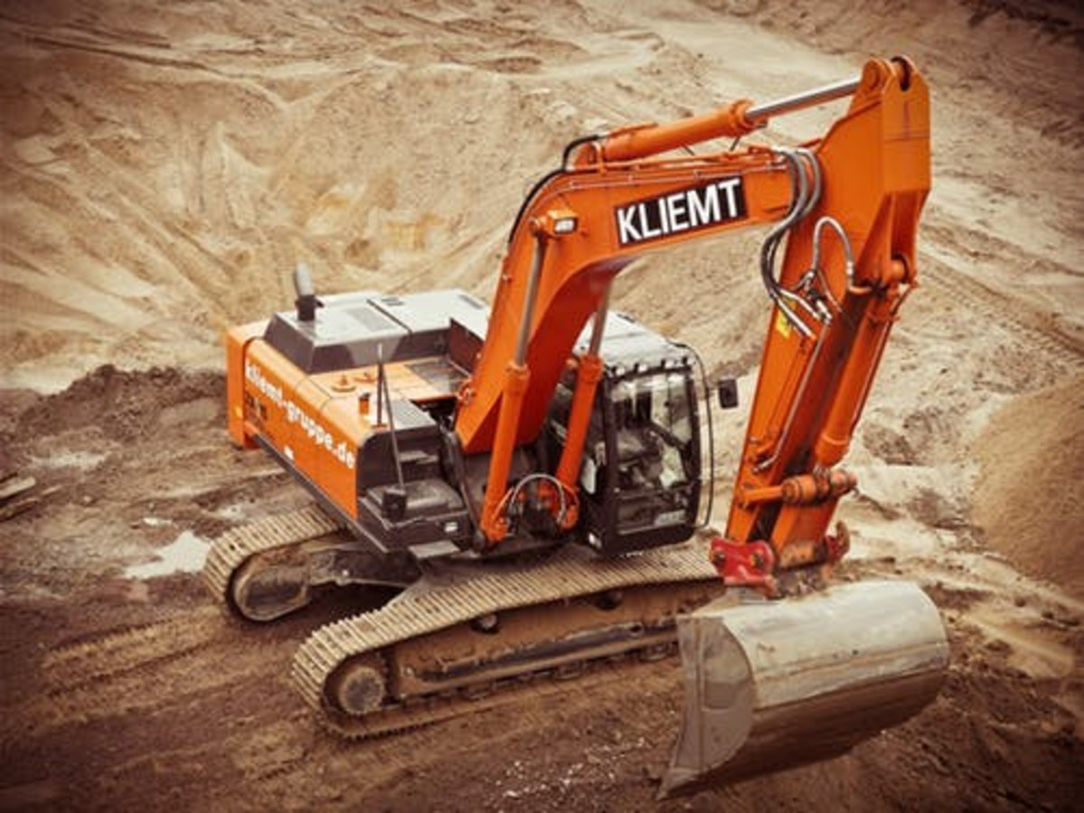 Even Big Machines Like This Can Be Stolen If Not Guarded.
