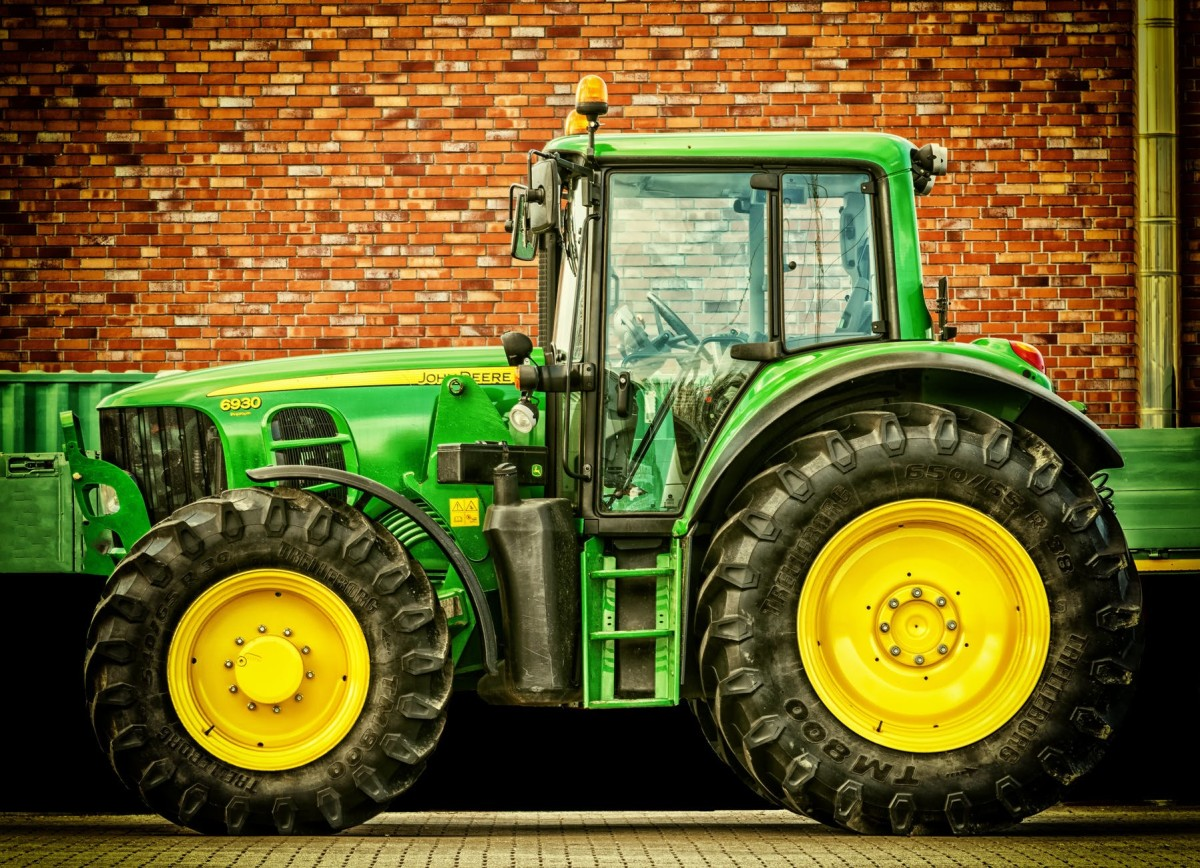 Tractors Serve Many Purposes In A Construction Or State Job.