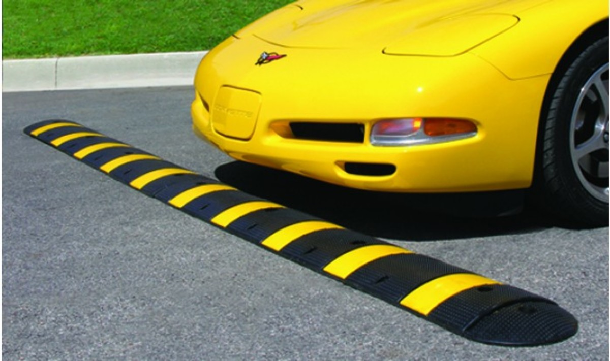 Watch out! Speed Bump Ahead.
