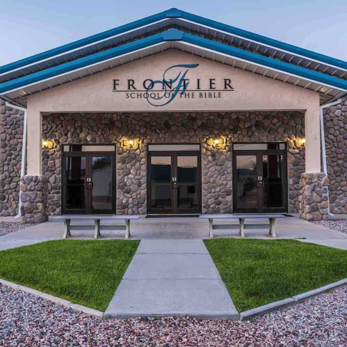 Frontier School of the Bible, in LaGrange, Wyoming.