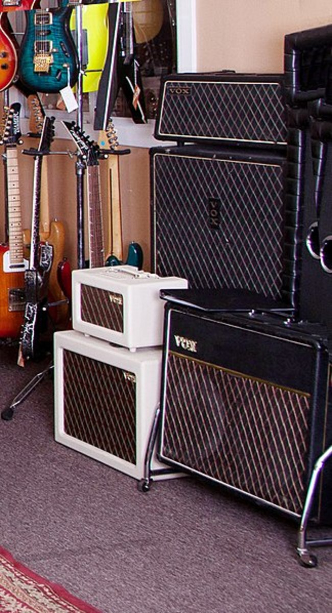 VOX amps music that experts made.