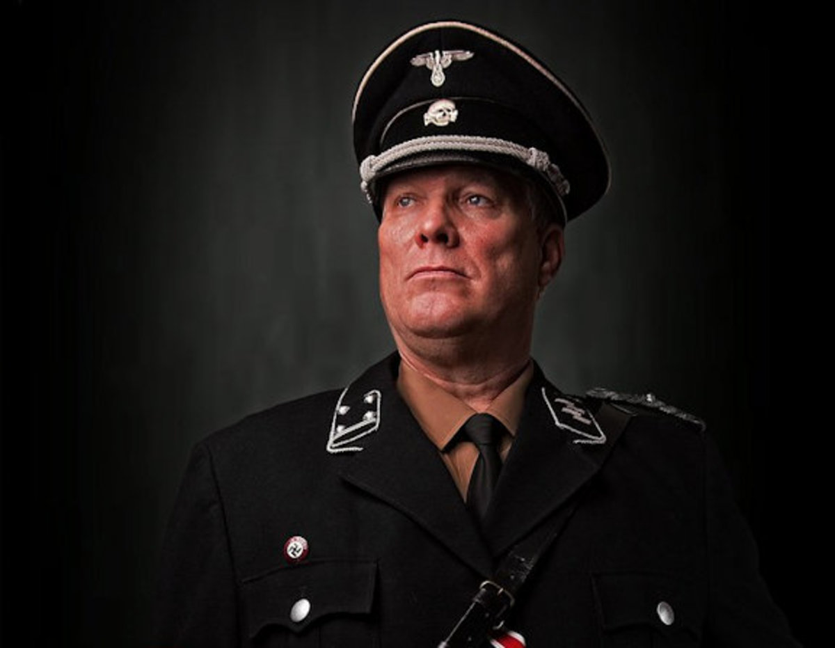 Colonel Schneider--a dangerous man with dangerous motives.