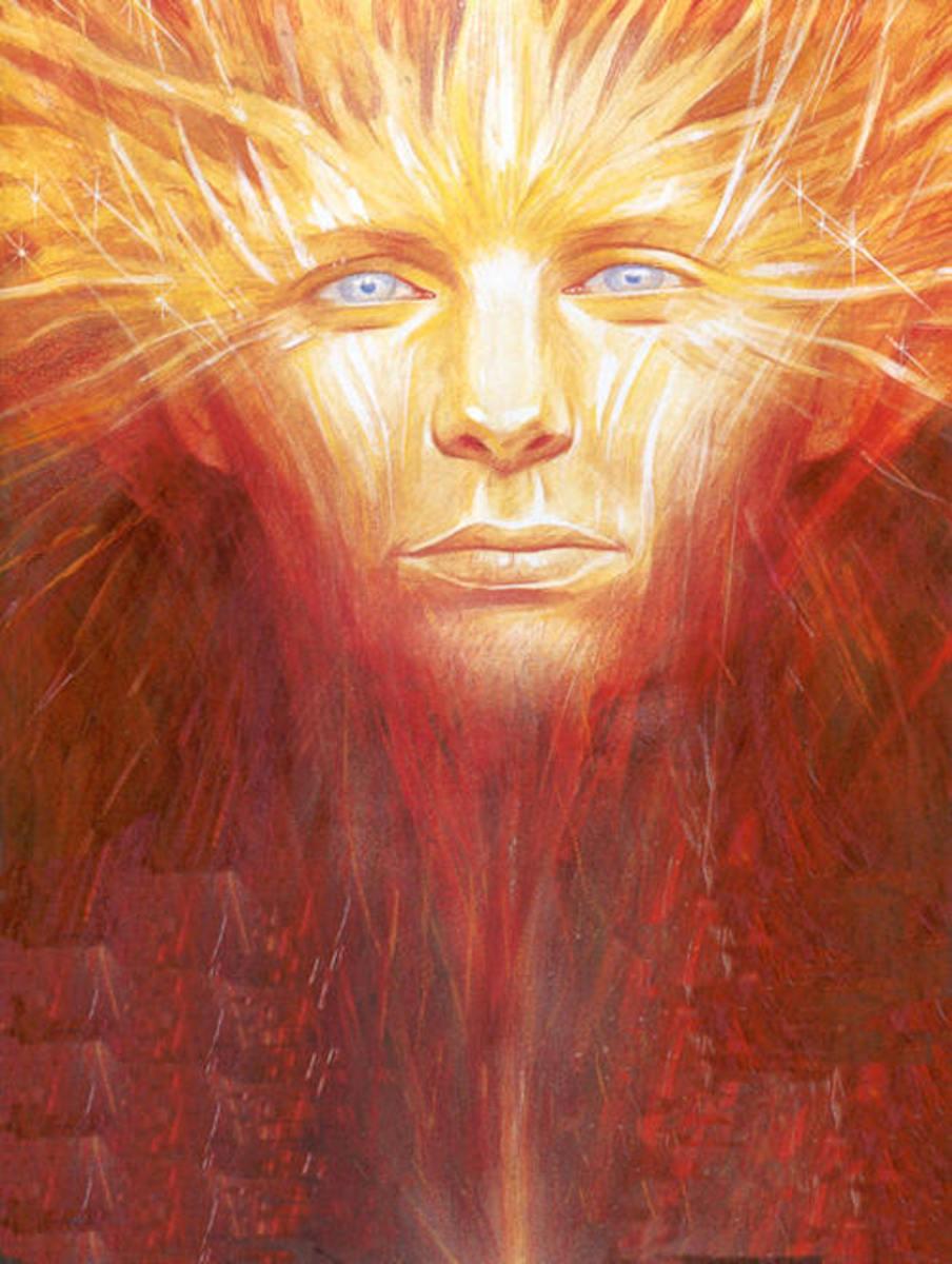 The Celtic god of light - Lugh
