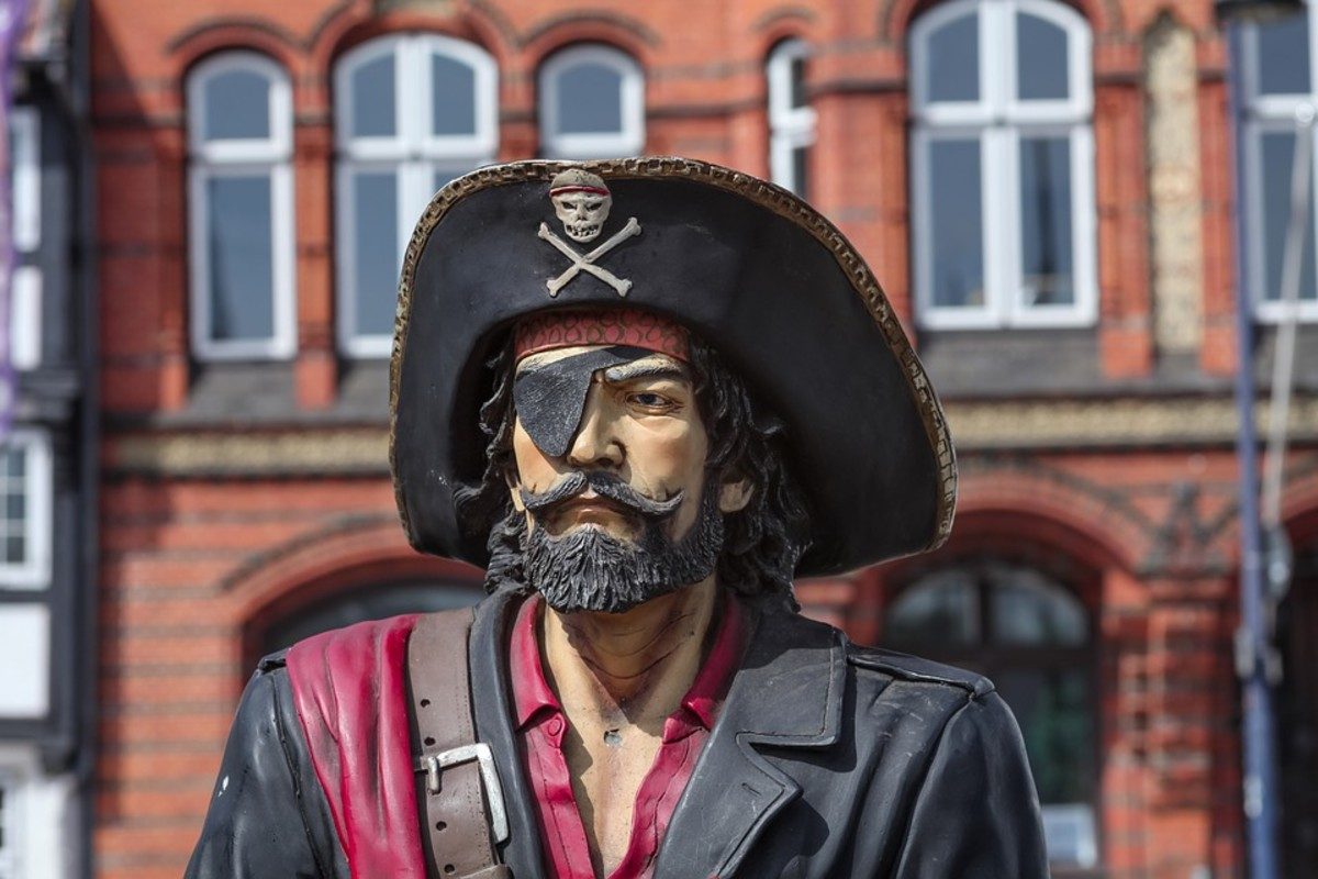 Would I Look as Dashing as This Pirate?