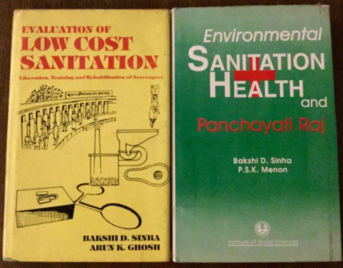 Environment and low cast sanitation—Author Bakshi.D.Sinha Environmental Sanitation, Health and Panchayati Raj, Author: Prof. Bakshi.D.Sinha