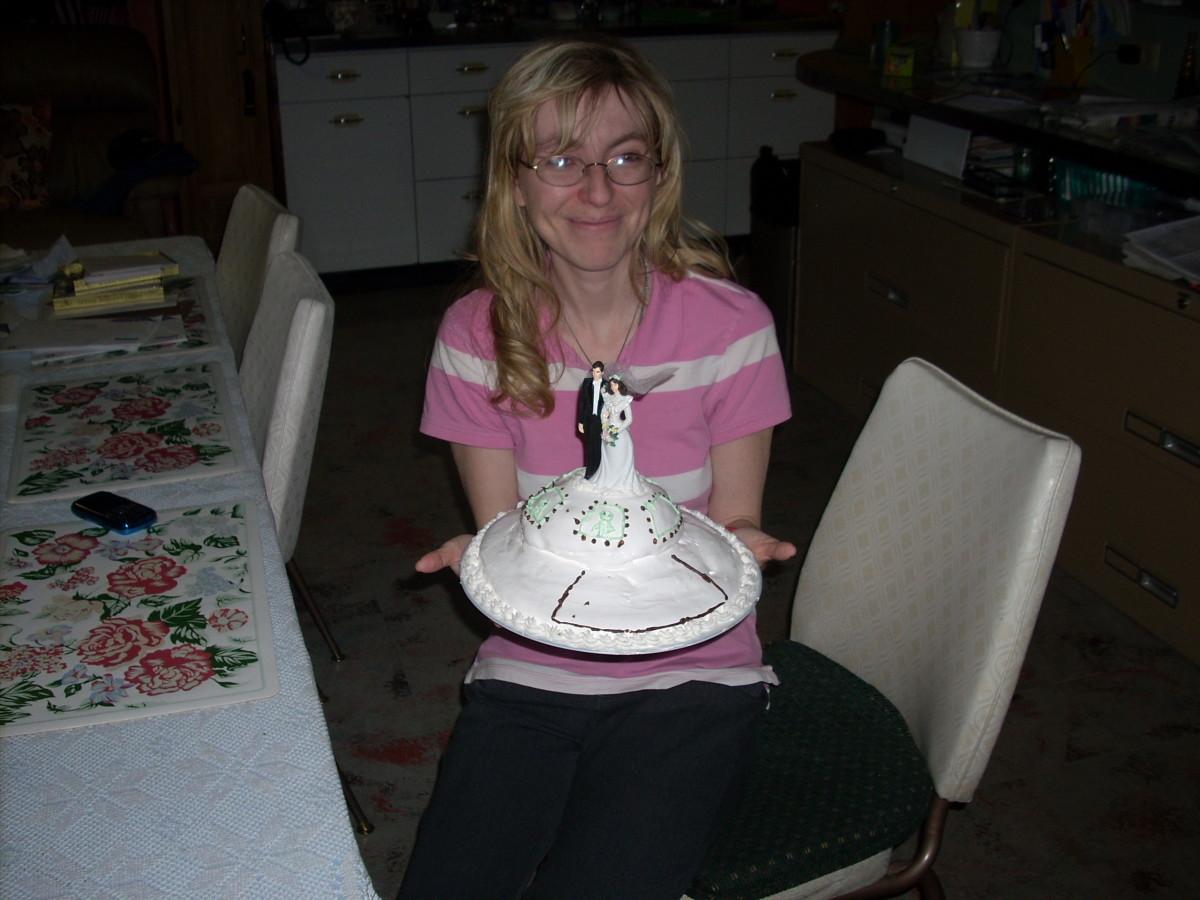 My husband's grooms cake