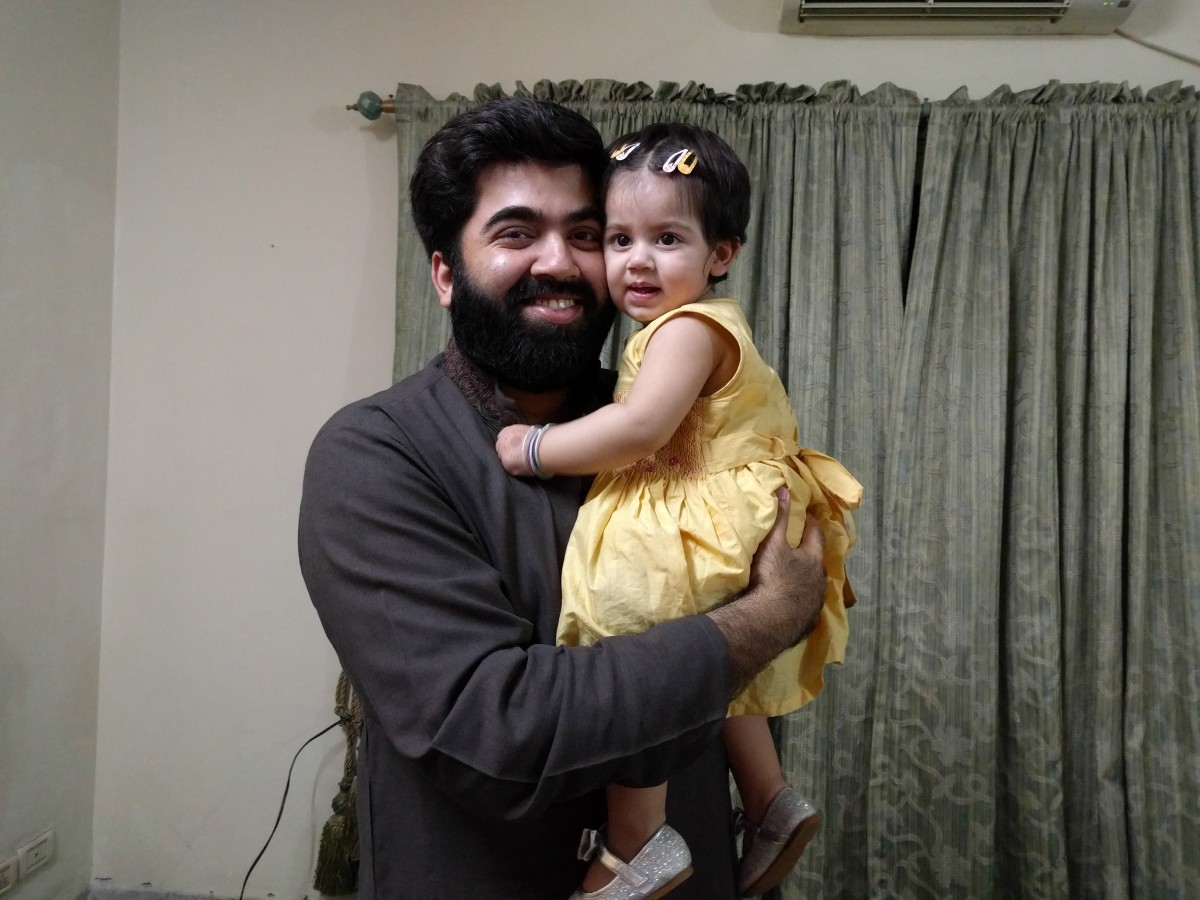My little Princess with her Father