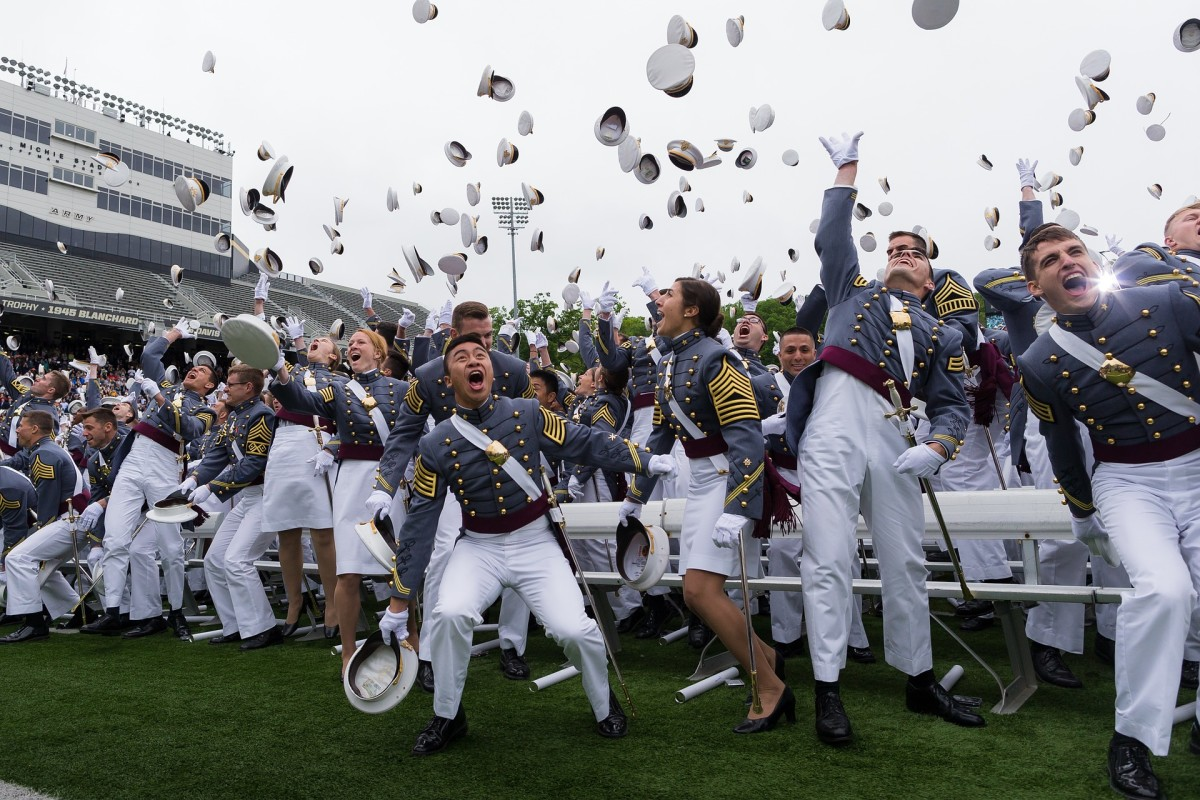Military Academy graduation
