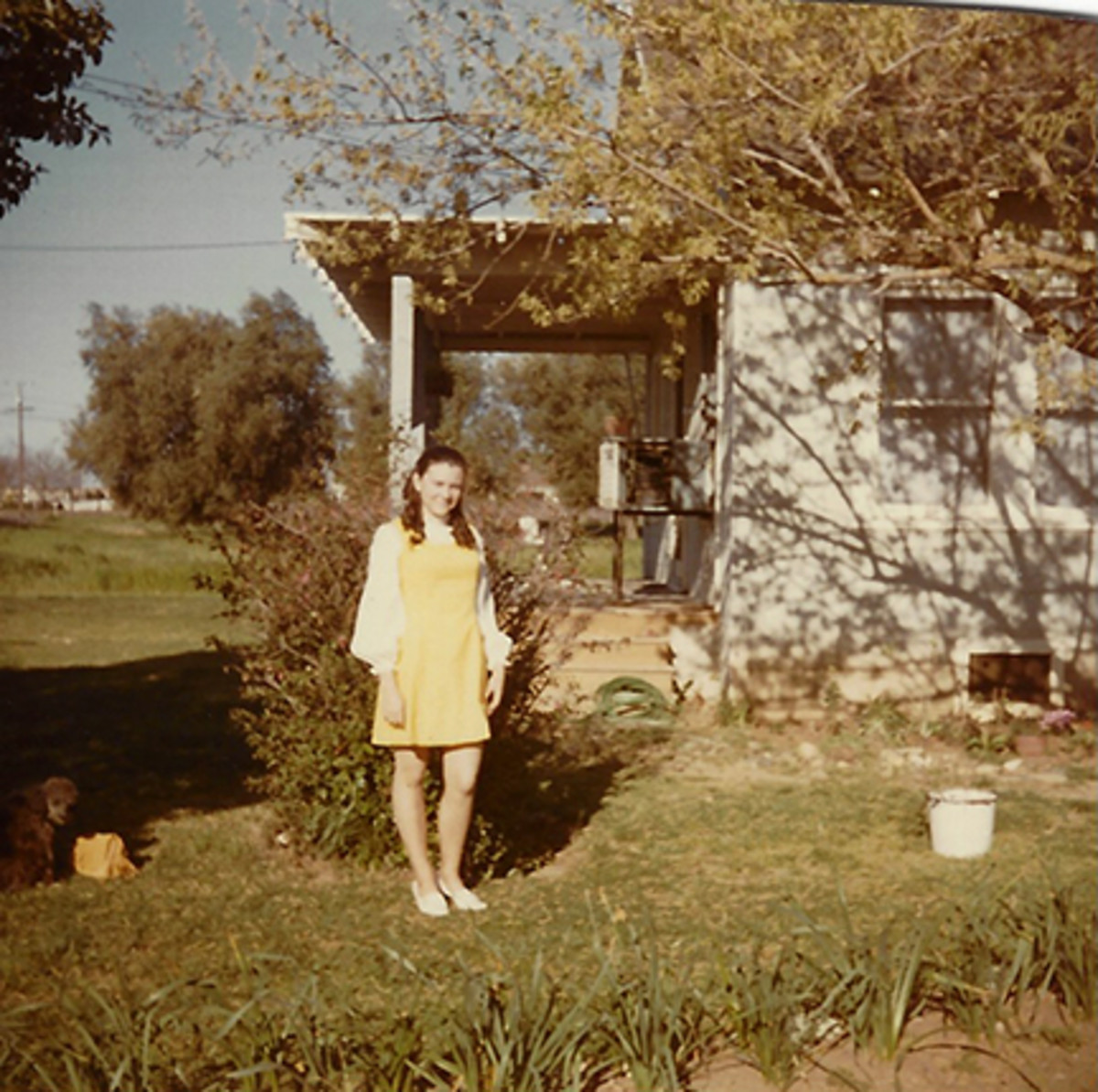 Me in Easter 1971