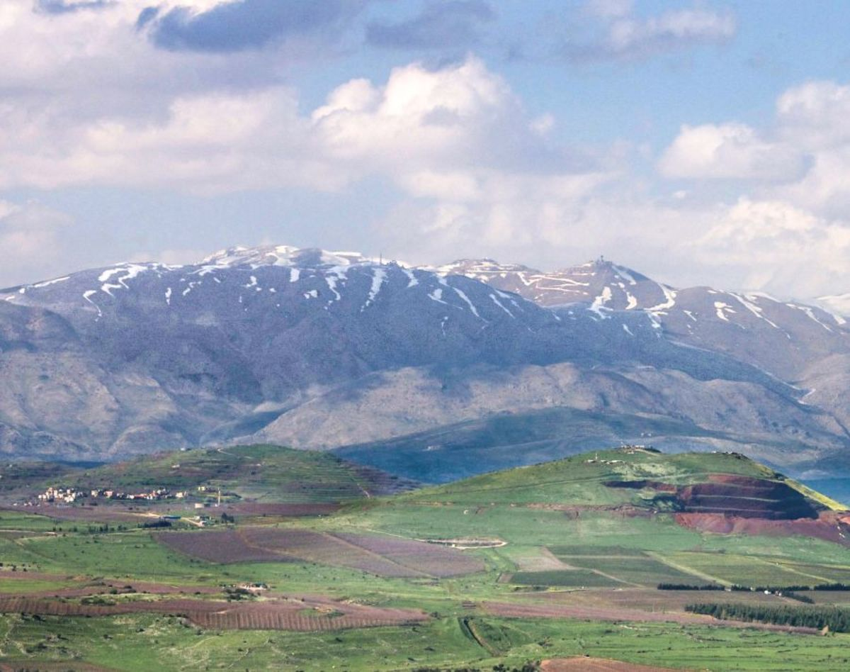 Mount Hermon, where it is believed the Watchers descended to before creating the Nephilim