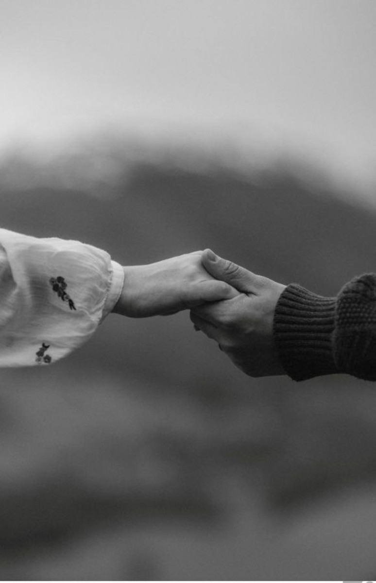 Hand in Hand - Symbol of Love