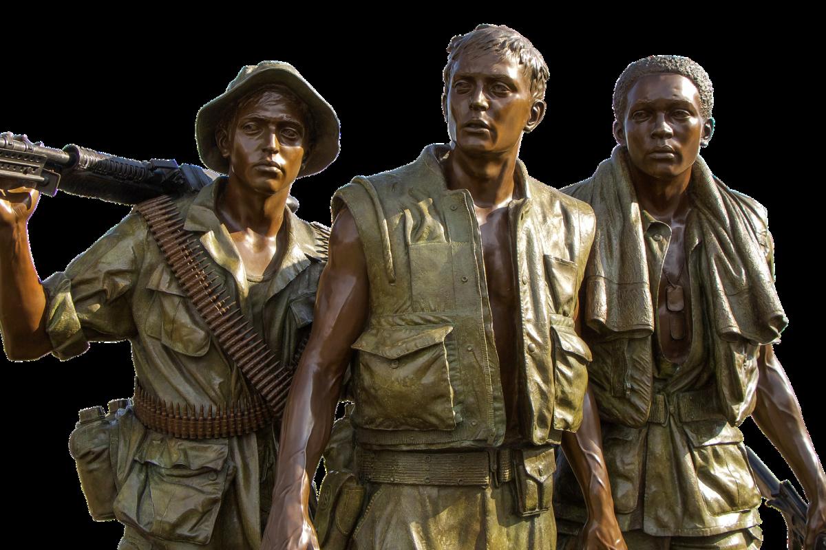 Part of Vietnam Memorial